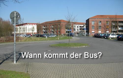 815 Unterschriften für die Buslinie.