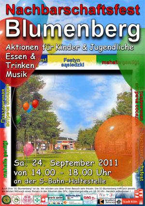 Nachbarschaftsfest Blumenberg