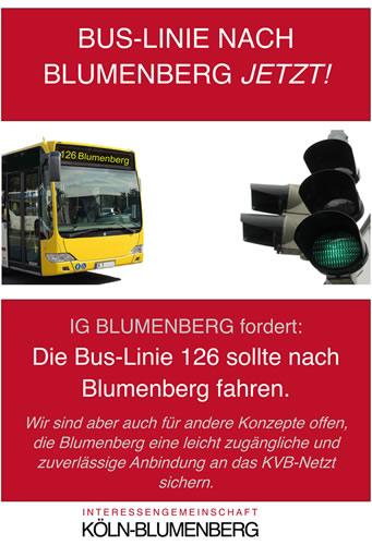 IG Blumenberg Plakat