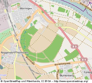 Worringer-Bruch_openstreetmap