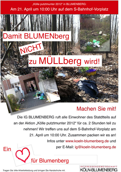 Blumenberg putztmunter 2012