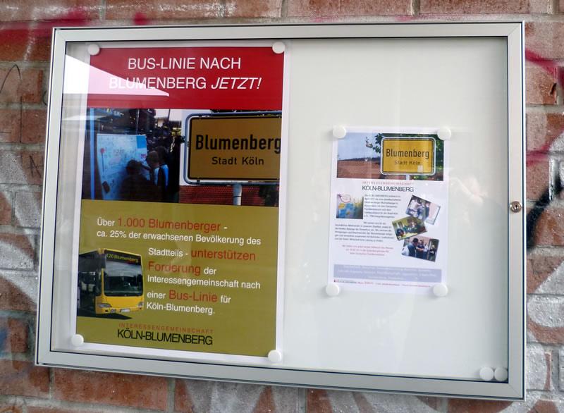 Schaukasten für Blumenberg