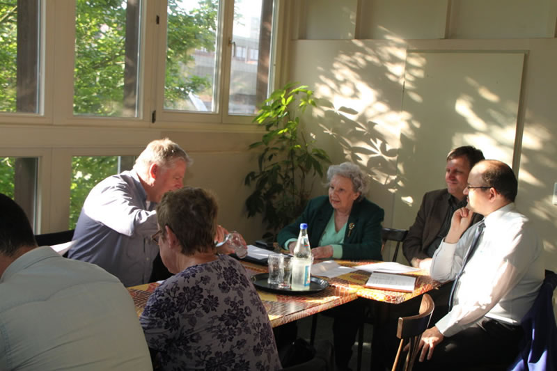 IG Blumenberg zu Gast bei der Chorweiler SPD-Ortsgruppe