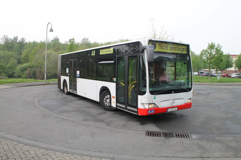 Bus in Blumenberg