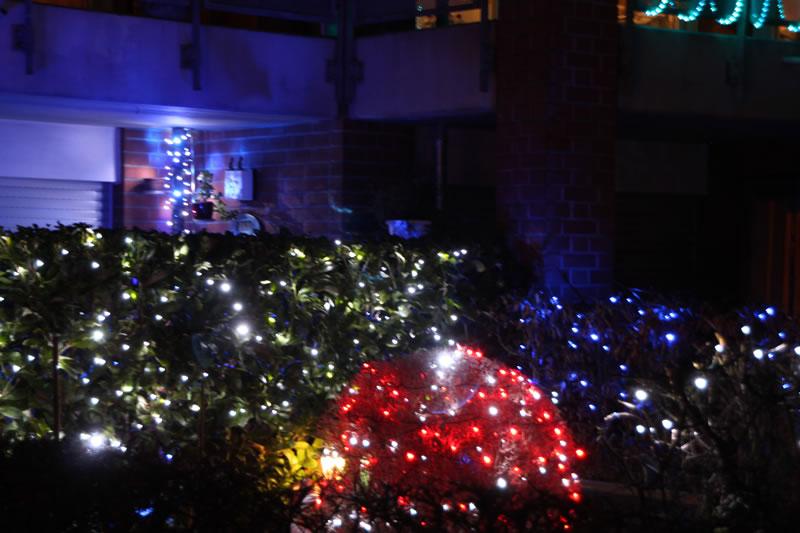 Weihnachtsbeleuchtung in Blumenberg