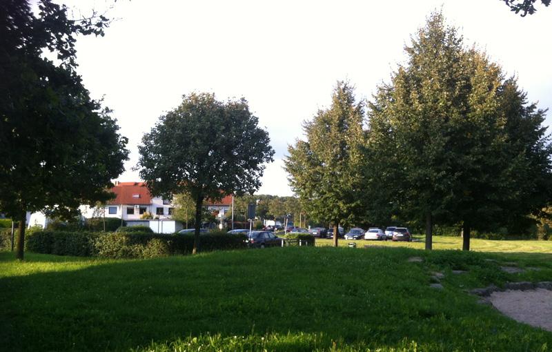 Auf dem Gelände in der Langenbergstraße sollten die Wohncontainer aufgestellt werden