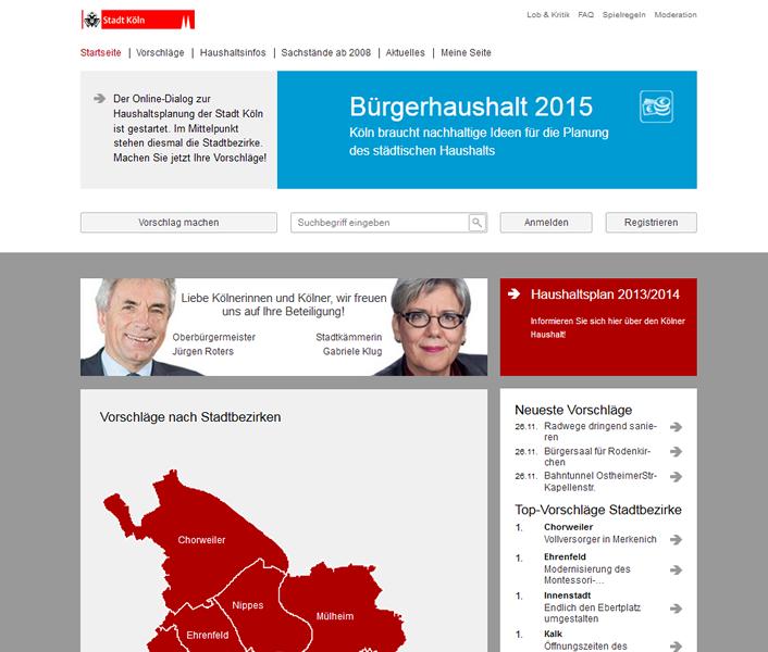 Bürgerhaushalt 2015