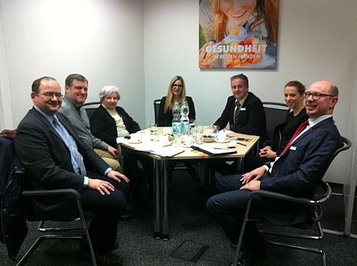 IG Blumenberg im Gespräch mit der AOK-Chorweiler