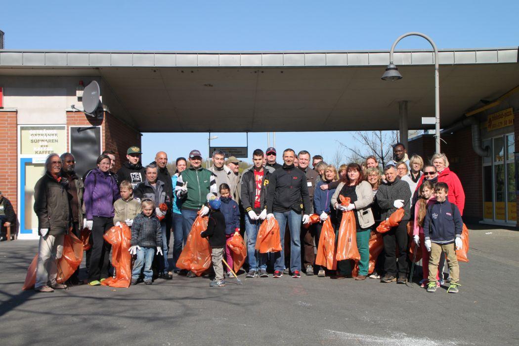 Teilnehmer Kölle Putzmunter 2015 in Blumenberg