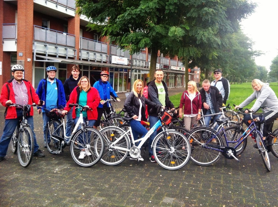 IG Blumenberg Fahrradtour 2015