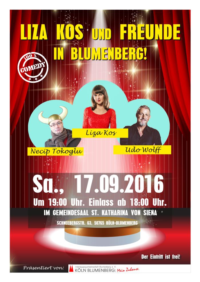 Comedians in Blumenberg!