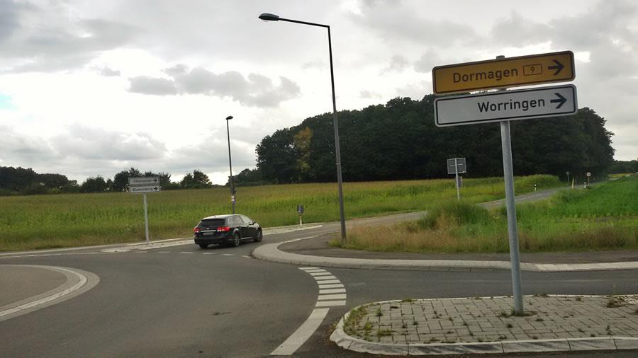 Blumenbergsweg teilweise wieder freigegeben