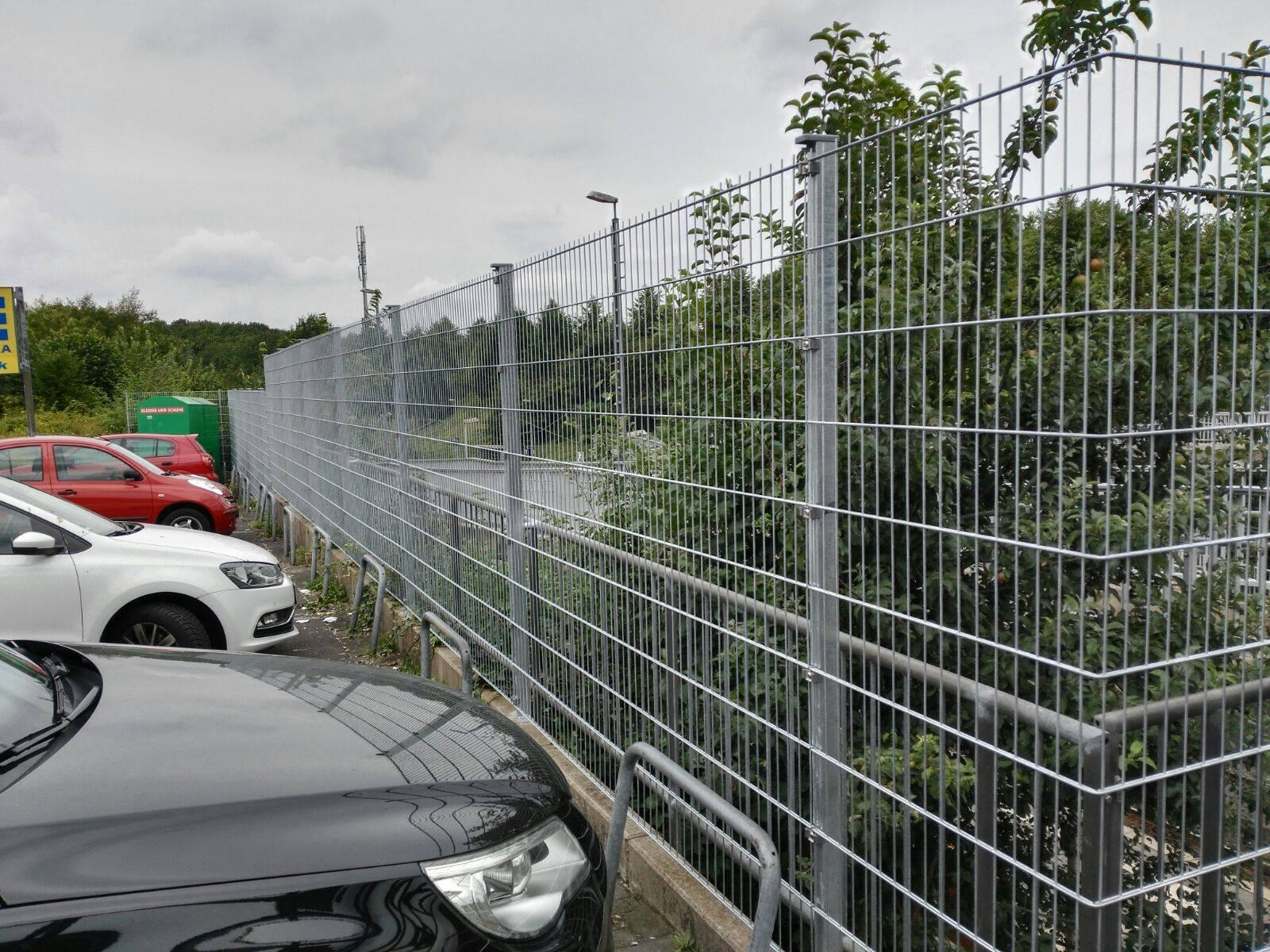 Ein Zaun für mehr Sauberkeit