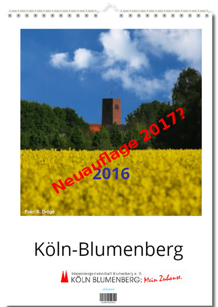 Ein neuer Kalender für Blumenberg?