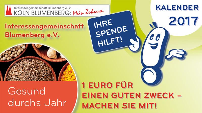 Unterstützung für die IG Blumenberg e.V.