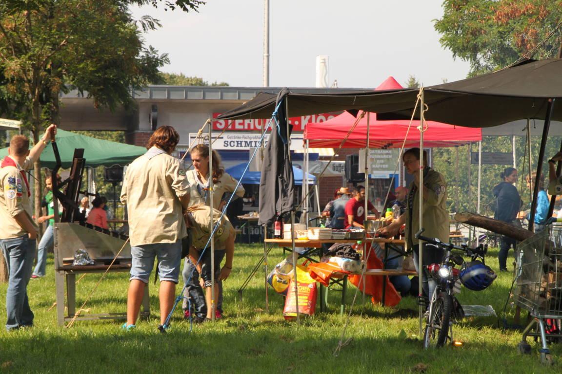 Das 11. Nachbarschaftsfest in Blumenberg