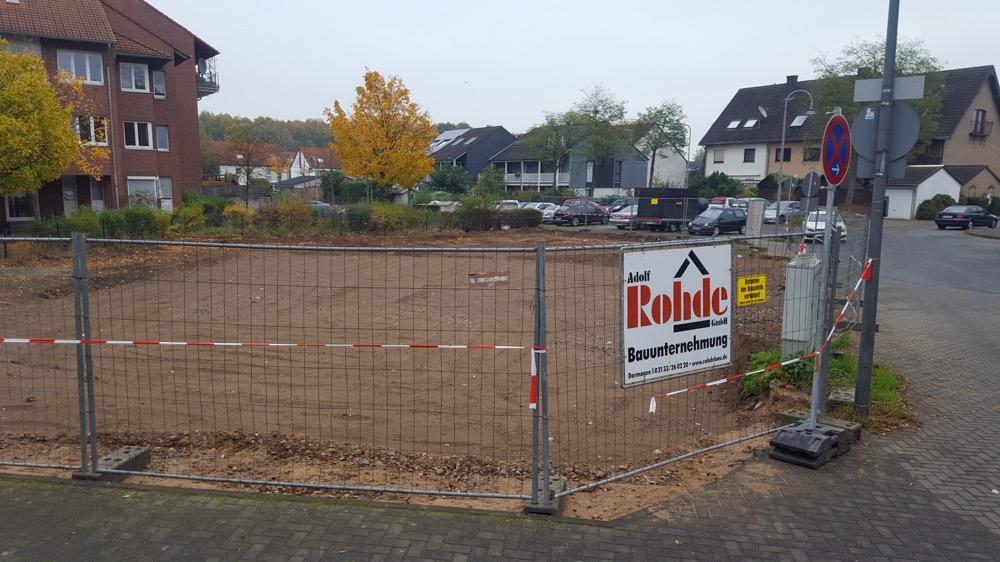 In Blumenberg-Süd wird gebaut