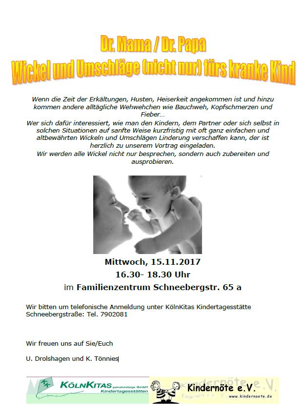 Wickel und Umschläge (nicht nur) fürs kranke Kind