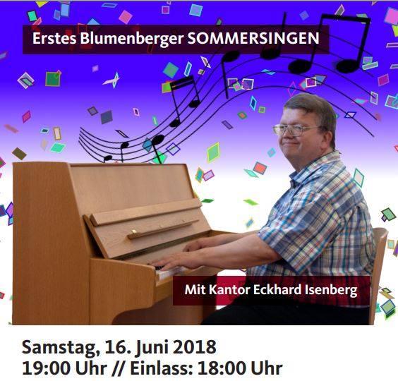 Erstes Blumenberger Sommersingen