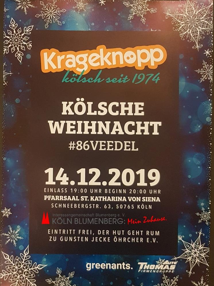 Kölsche Weihnacht in Blumenberg